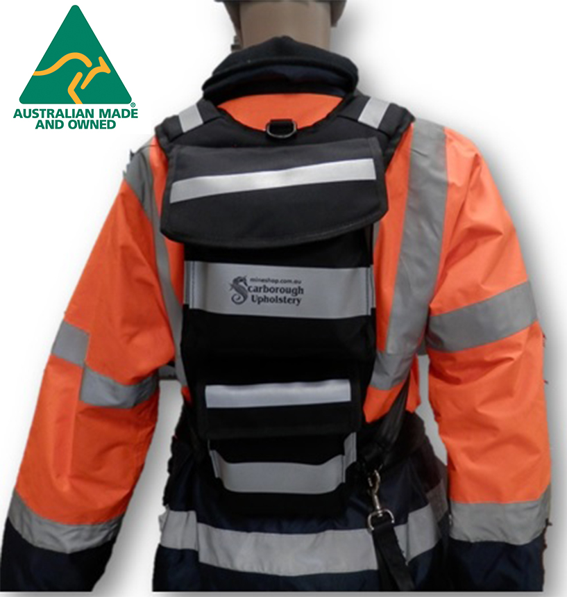 Dend 1 - Back Pack for CSE, Tag and Track, Lanyard - Mine Shop