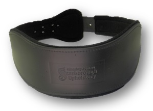 Kidney 3 - Wide Leather Back Support Belts - Mine Shop