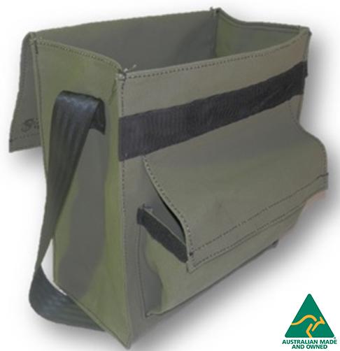 CPRB 034 2 - Canvas Crib/Tool Bag Tall - Mine Shop