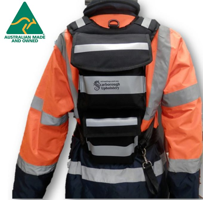 Dend 2 - Back Pack for CSE, Tag and Track, Lanyard - Mine Shop