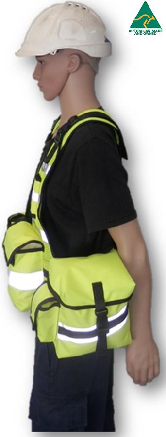 Fluro 2 - HiViz Carry All Vest - Scarborough Upholstery