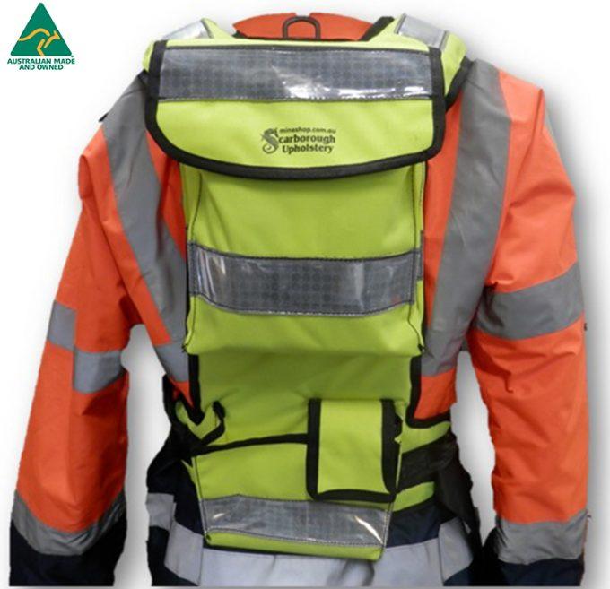 Fluro NLM 5 - Backpack CSE for NLM - Scarborough Upholstery