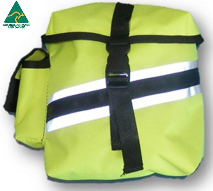 Fluro Pouch 1 - HiViz Carry All Vest - Scarborough Upholstery