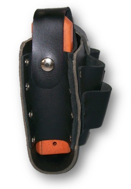 ICCL LTEZ 4 - Leather ICCL Battery Pouch with Tool Holder & Eziscan - Mine Shop