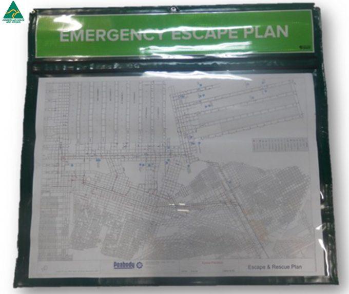 Info Board 2 - Emergency Escape Plan Information Board