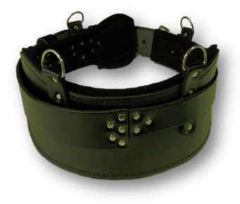 LBSBCSE 2 - Leather Miners Belt for CSE Rescue - Mine Shop