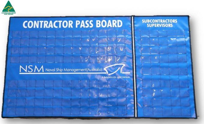 Navy ID Holder 2 - Passboard Identification Holder