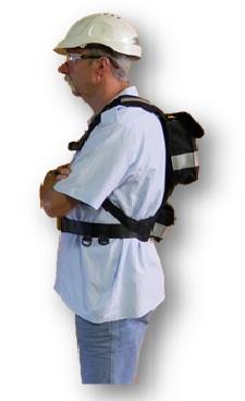 SRBP CSEB 3 - Backpack for CSE + BATTERY - Mine Shop