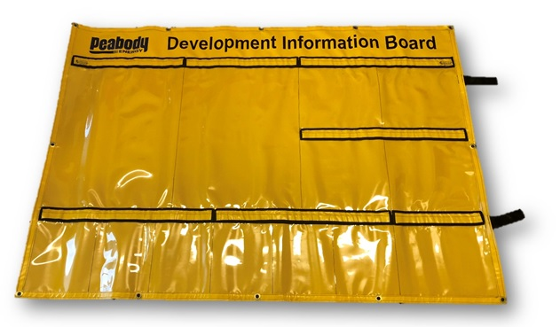 VG-DIB 1- PVC Development Information Board
