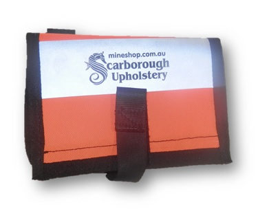 Wrist Mounted Document Holder 1 - Mine Shop - Scarborough Upholstery
