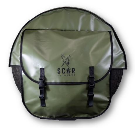 Tire Cover 1 - Four Wheel Drive Tire Cover - ScarOutdoors