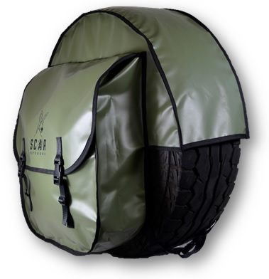 Tire Cover 2 - Four Wheel Drive Tire Cover - ScarOutdoors