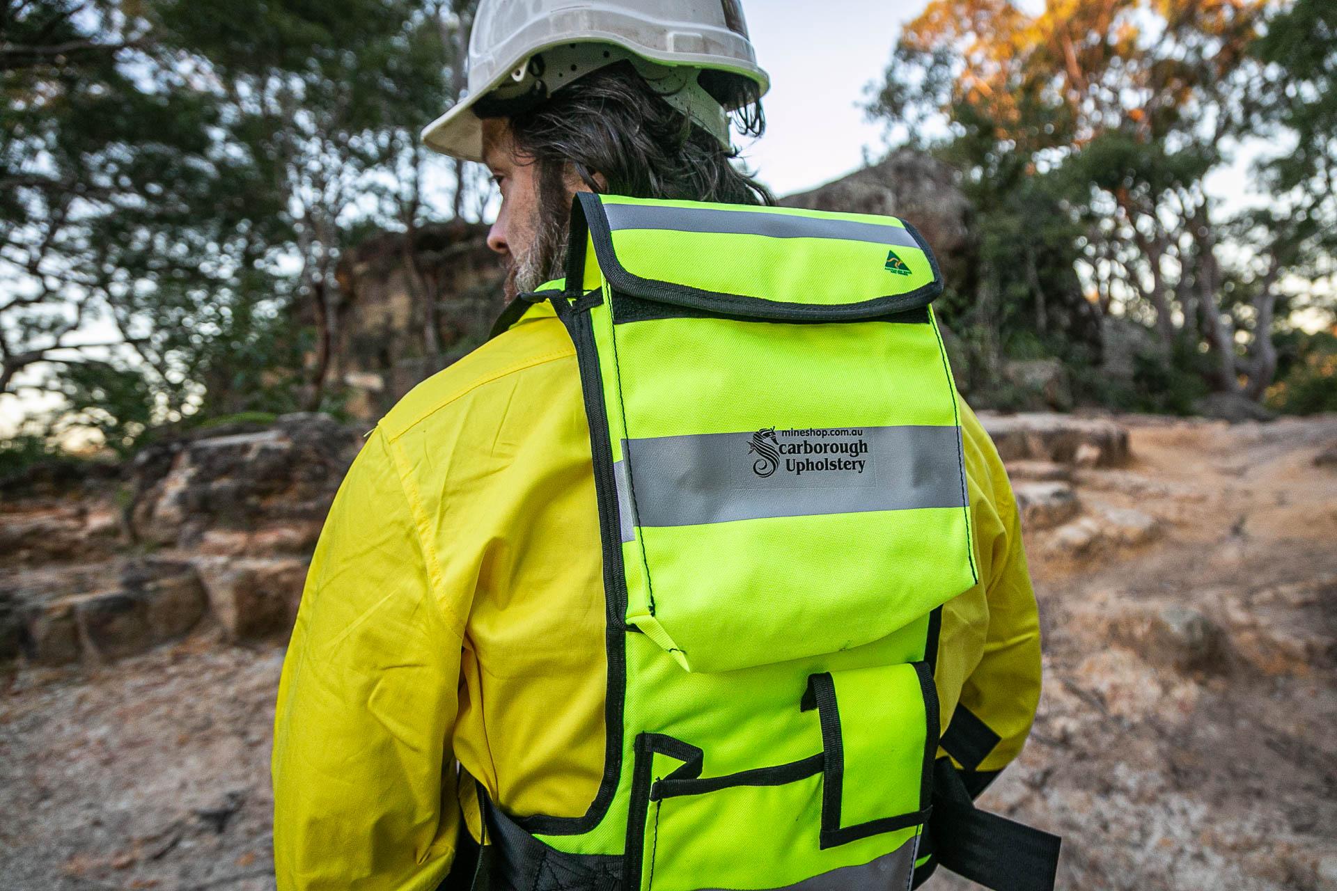 Custom Mining Backpacks - Mine Shop